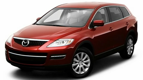 Sp�cification Vid�o: Mazda CX-9 2009 Video