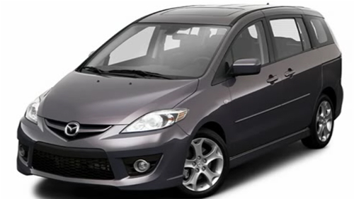 Sp�cification Vid�o: Mazda5 2009 Video