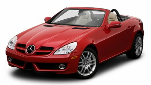 New Mercedes-Benz SLK300 Wallpaper