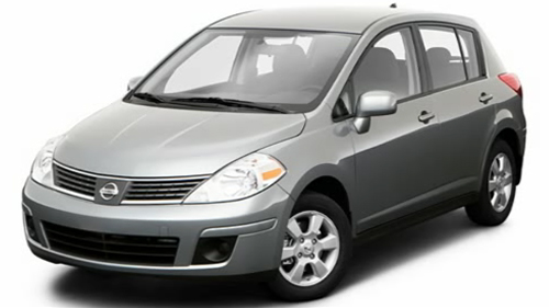 2009 Nissan Versa Hatchback Video Specs