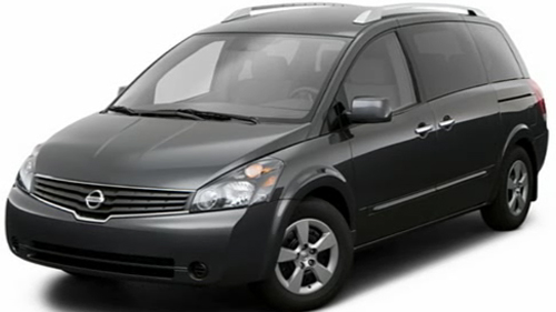 Sp�cification Vid�o : Nissan Quest 2009 Video
