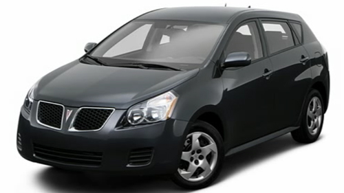 Sp�cification Vid�o: Pontiac Vibe 2009 Video