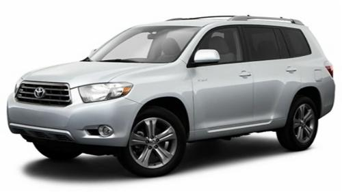 Sp�cification Vid�o: Toyota Highlander 2009 Video
