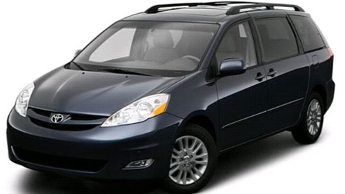 Sp�cification Vid�o: Toyota Sienna 2009 Video