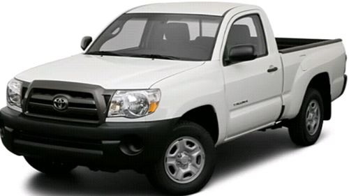 Sp�cification Vid�o: Toyota Tacoma 2009 Video