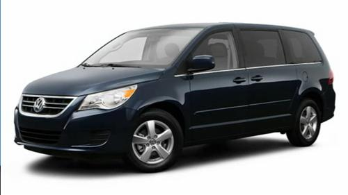 Sp�cification Vid�o: Volkswagen Routan 2009 Video