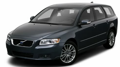 Sp�cification Vid�o: Volvo V50 2009 Video