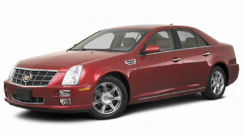 2010 Cadillac STS AWD Video Specs