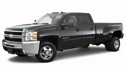 2010 Chevrolet Silverado 3500HD 4WD Extended Cab Video Specs