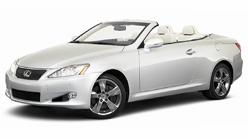 2010 Lexus IS C Video Specs