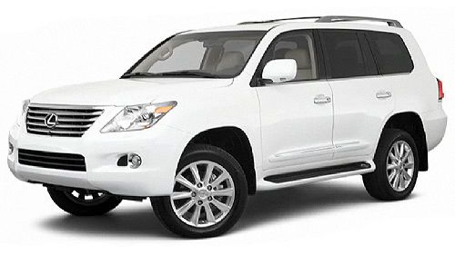 2010 Lexus LX 570 Video Specs