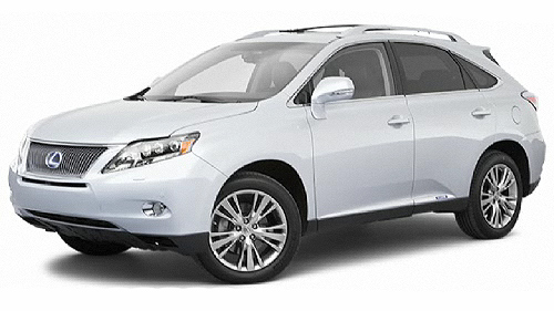2010 Lexus RX 450h Video Specs