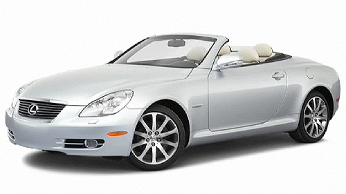 2010 Lexus SC Video Specs