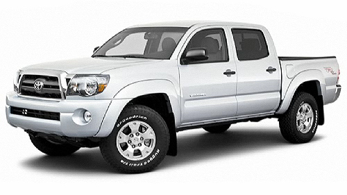 2010 Toyota Tacoma 4WD Double Cab Video Specs