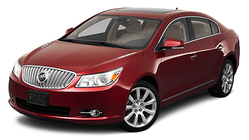 2011 Buick LaCrosse AWD Video Specs