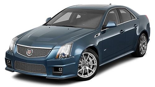 Vid�o de pr�sentation: Cadillac CTS V 2011 Video