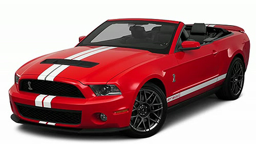 2011 Ford Shelby GT500 Convertible Video Specs