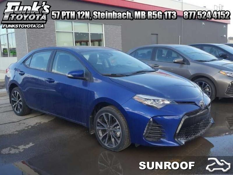 2017 Toyota Corolla SE   - Sunroof - Upgrade Packa