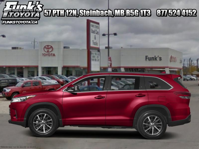 2017 Toyota Highlander XLE  - 19 inch  Wheels - SE Pa
