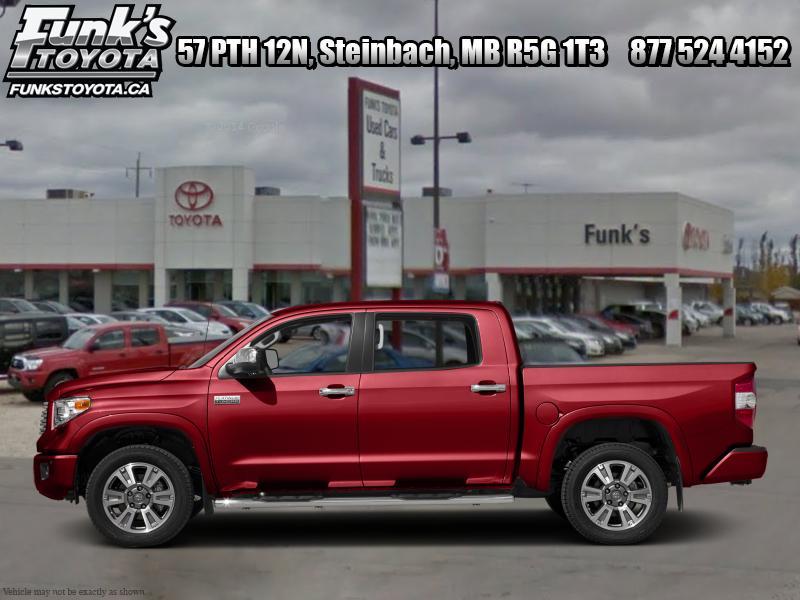 2017 Toyota Tundra Platinum  - Navigation -  Leat