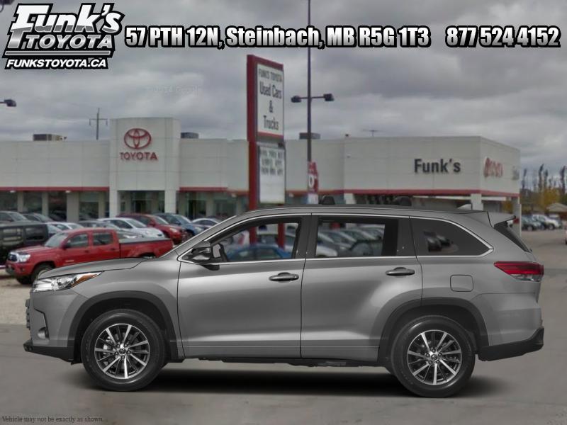 2017 Toyota Highlander XLE  - Bluetooth -  Navigation