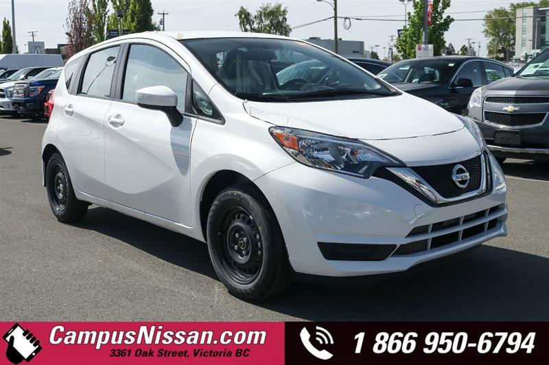 2019 Nissan Versa Note S FWD Manual
