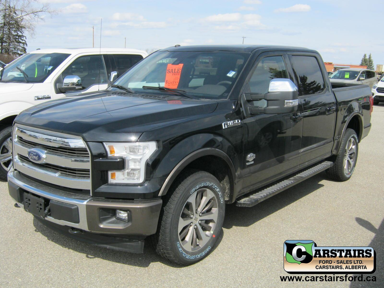 2017 Ford F-150 King Ranch 145""