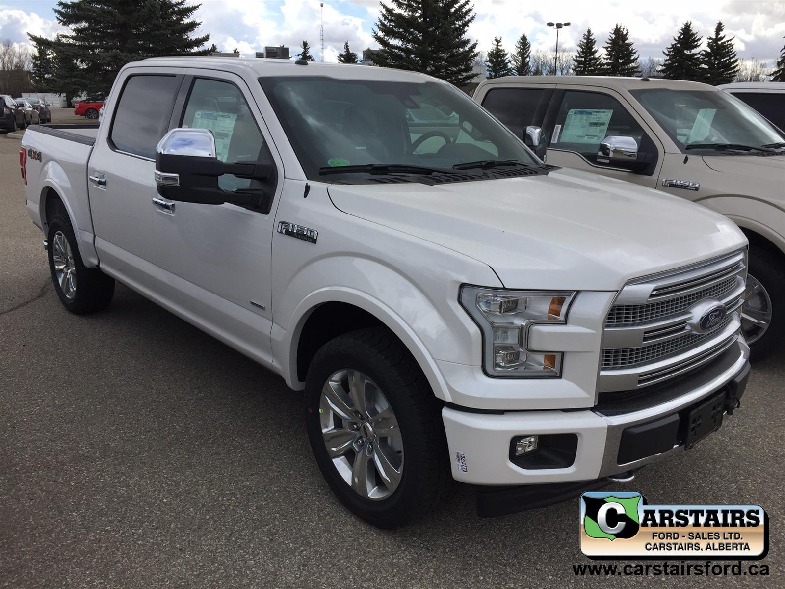 2017 Ford F-150 Platinum 145""