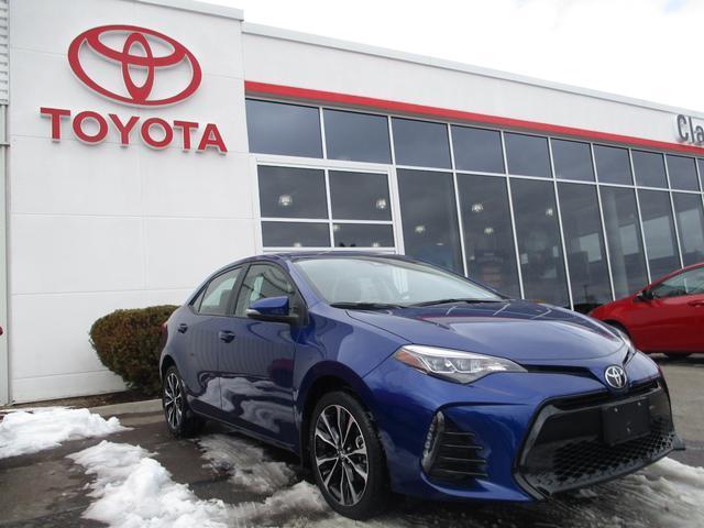 2017 Toyota Corolla SE BURSEM/08W7/AV