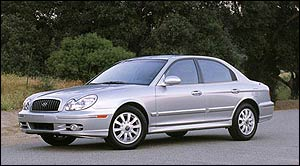 2002 Hyundai Sonata Maintenance Schedule