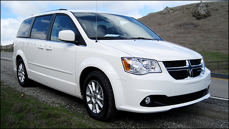 2011 Dodge Grand Caravan And 2011 Chrysler Town Country First