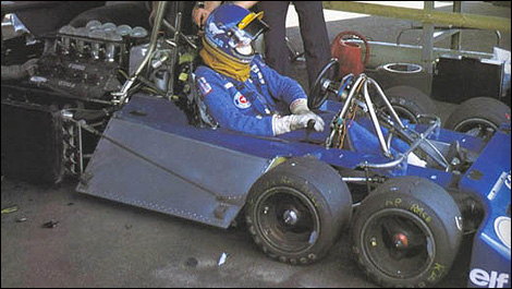 Video And Photos Of The Famous 6 Wheel Tyrrell P34 Of Late