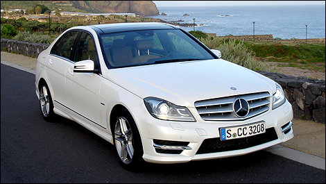 2012 mercedes benz c class first impressions. Black Bedroom Furniture Sets. Home Design Ideas
