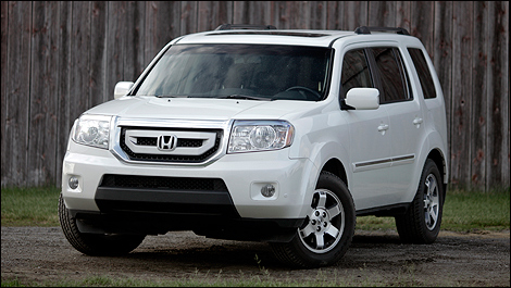 Honda Pilot Touring Review 2011 Suv Comparison Test
