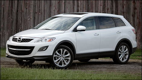 2011 Mazda CX 9 GT Front 3/4 View