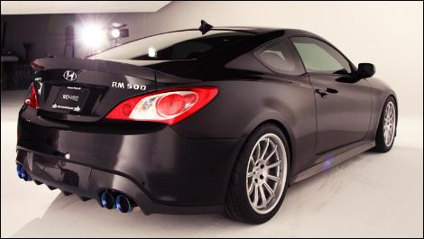 Sema 2011 Hyundai S 450 Hp Rm500 Genesis Coupe Auto123 Com