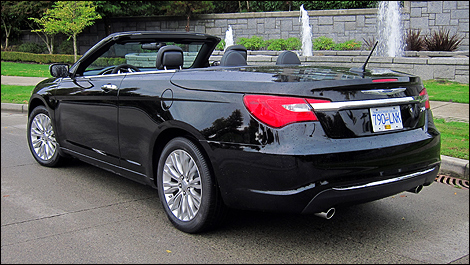 2011 chrysler 200 limited convertible review. Black Bedroom Furniture Sets. Home Design Ideas