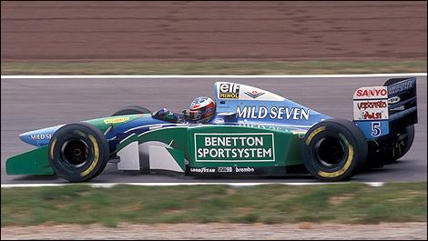 Michael Schumacher Benetton F1
