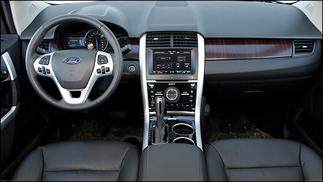 2012 Ford Edge Limited EcoBoost interior