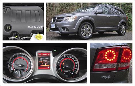 2012 Dodge Journey R T Awd Review Auto123 Com
