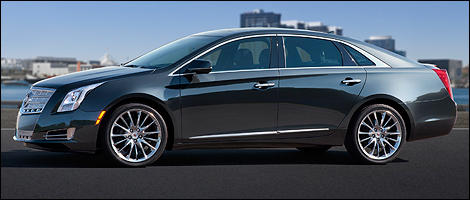 2013 Cadillac XTS left side view