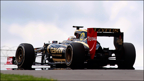 Lotus F1 E20 Romain Grosjean