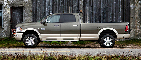 2012 Ram 2500 Laramie Longhorn 4x4 left side view