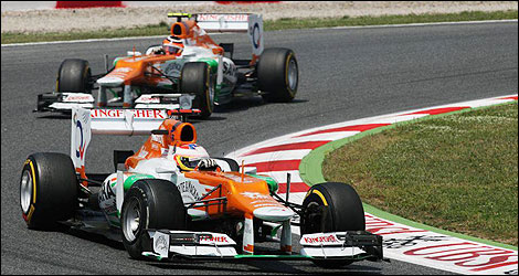 F1 Sahara Force India Nico Hulkenberg Paul di Resta