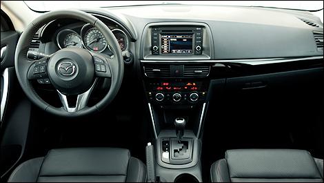 Charming 2013 Mazda CX 5 GT Dashboard