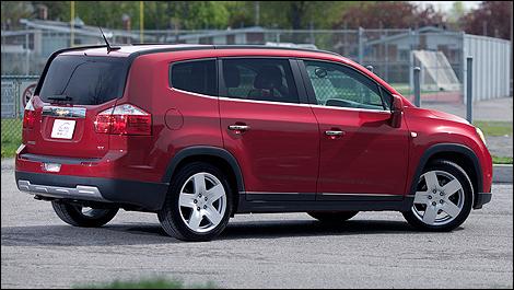 2012 Chevrolet Orlando Ltz Review Auto123