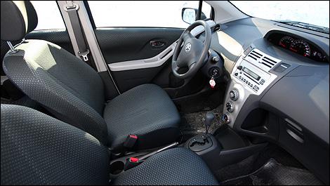 2008 Toyota Yaris Hatchback Cockpit