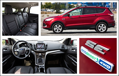 2013 ford escape se 4wd review. Black Bedroom Furniture Sets. Home Design Ideas