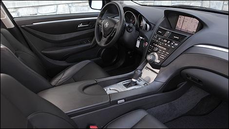 2012 Acura ZDX Interior