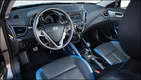 2013 hyundai veloster turbo review - Hyundai veloster interior accessories ...